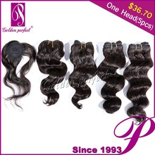 Import China Goods Stock Price Double Drawn Brazilian Hair Extension