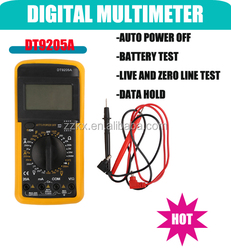 A QUALITY 3 1/2 LCD Digital Multimeter With Continuity Tester Circuit Tester Battery Tester DT9205A