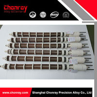 Easy installation heating system tubular heating element