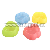 Apple shape dog bowl/pet feeders/pet bowl FS017