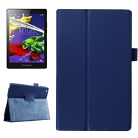 Hot Products Litchi Texture Leather for Lenovo Tab 2 A8 Flip Cover