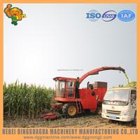 New design mini maize silage machine/ crops cutting machine harvester made in china