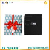 Chinese custom empty tea packaging box paper gift box for tea