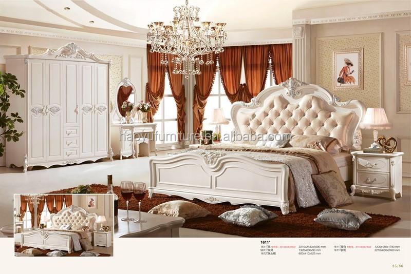 골동품 럭셔리 유럽 바로크 침대 프랑스어 스타일 1616 #-침실 ...