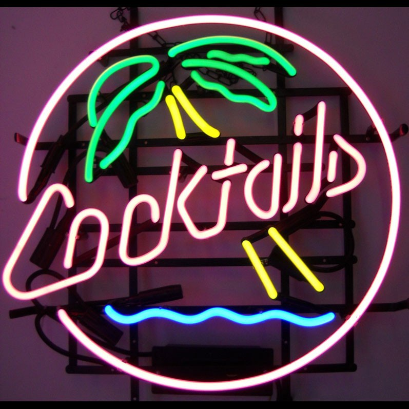 Bacardi Neon Signs - Buy Bacardi Neon Signs,Attractive Bar