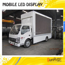 SMD p6,p8,p10 1R1G1B and waterproof led display/truck mobile led screen/mounted truck led advertising signs