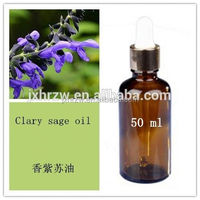OEM Packaging Protect Uterus essential oil bottle Clary Sage Oil