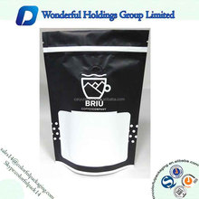 custom printed matte/shiny aluminum foil coffee standup pouch