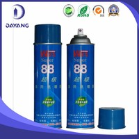 factory price non-flammable GUERQI 88 fabric spray adhesive for embroidery