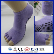 Cotton pilates sexy hot ladies yoga anti slip yoga socks