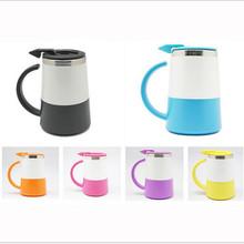 Factory direct new product Double coffee cup plastic outside inner metal coffee mug custom coffee mug
