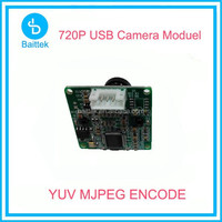 720P cctv camera module yuy/mjpeg UVC for android