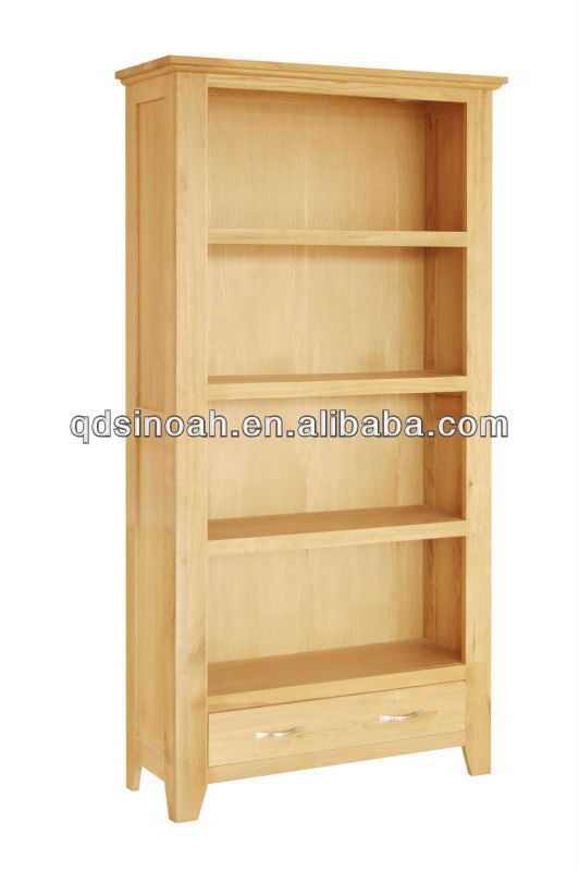 Dise o de madera estanter a s lido de estanter a de for Libros de muebles de madera