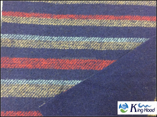 2015! 10% wool/ 90% blend DOUBLE FACE WOOL STRIPE fabric for garment