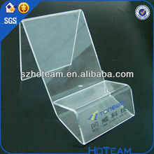 wholesale retail store supplies acrylic mobile phone showcase show case stand
