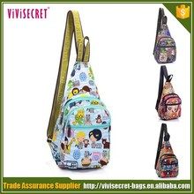 Newest product Cartoon chest pack with leisure style for sports