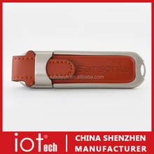 Promotional Gift Leather Bulk 1GB USB Flash Drive