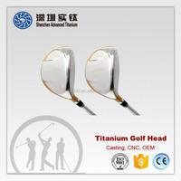 Custom dewaxing casting titanium golf driver head manufacturer