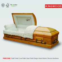 PINE #405 accessoires bier American US Style Wood coffin