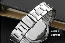 young fashion style stainless steel spring strap wrist watch that accepted western union ans T/T watch