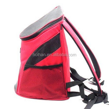 PORTABLE FABRIC PET CARRIER PET HIKING BACKPACK MESH PET BAG