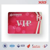 MDC0161 high quality id/vip/pvc/plastic card manufacturer