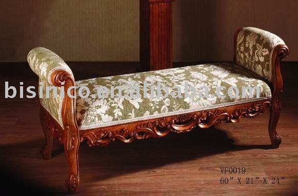 classical chaise lounge bench living room chaise lounge