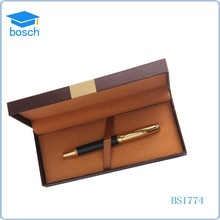 Heavey metal gold rose gift roller pen with your logo