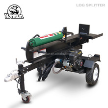 Hot selling CE approved Honda gas motor horizontal vertical towable size 26t wood splitting wedges