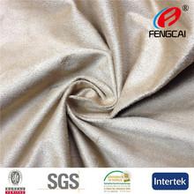 100% malha poliéster tecido sintético camurça para sofa conjunto