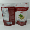 Grip seal bags for frozen food with window