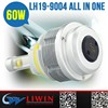 LW high qualtity car accessories Wide voltage12V 24V DC 9004 car&motorcycle headlight assembly car led headlight h13