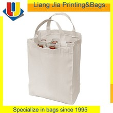Promotional New Products Cotton Wine Bottles Tote Bag