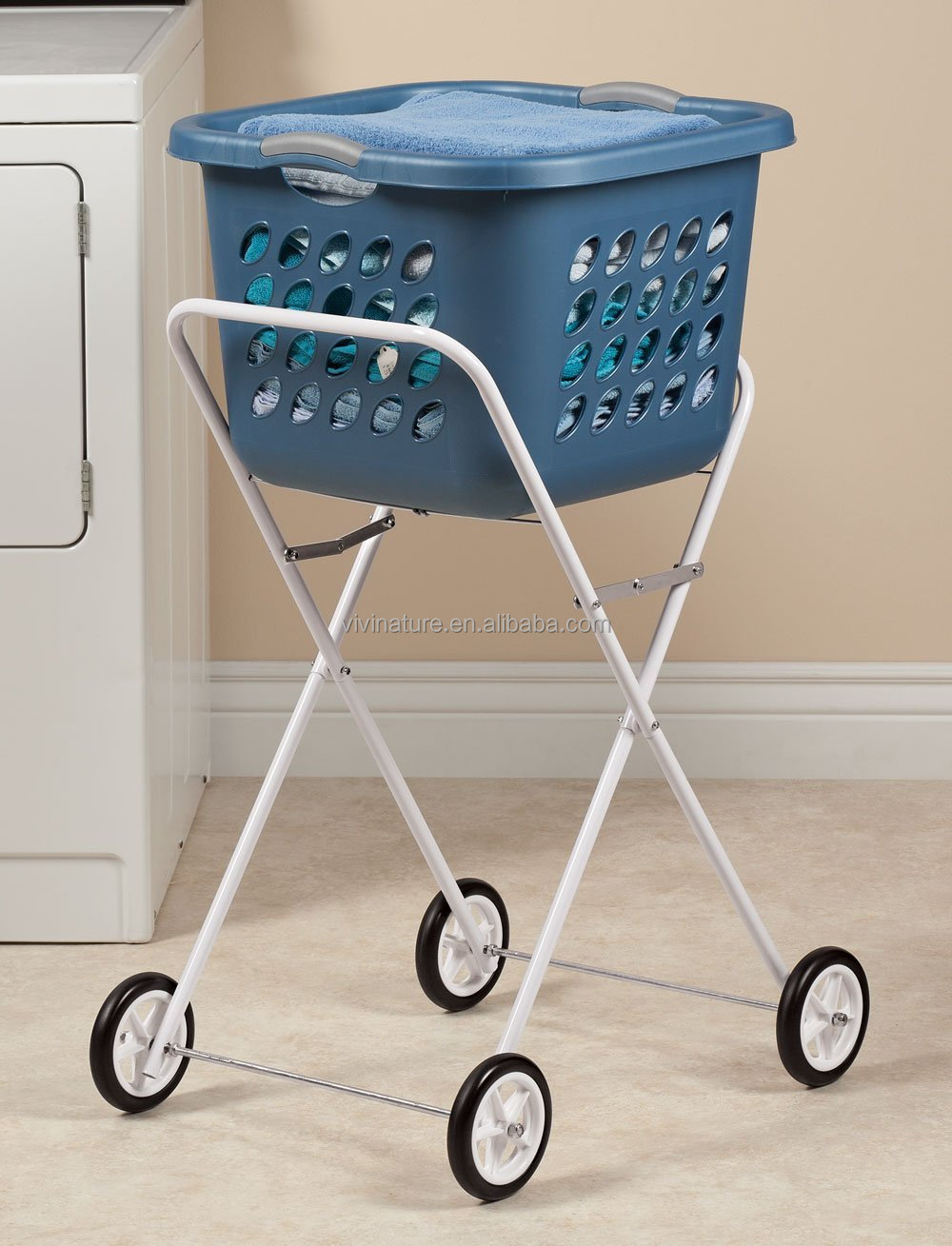 ... Trolley,Laundry Clothes Trolley,Laundry Hamper Trolley Product on