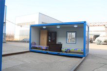 Complete functions 20 feet mobile container as one home