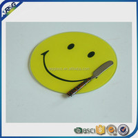 smile design glass cheese board tools for home use