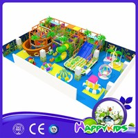 Fun center colour cover kids liked indoor plastic playground