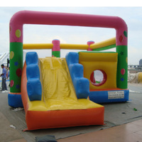 Guangzhou perfect combo jumping house inflatable bouncer china,bouncer with slide,commercial jumping castles sale