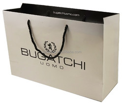 Highest performance and inexpensive recyclable boutique gift paper bags