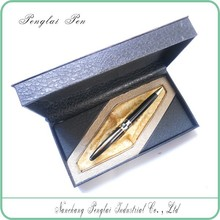 New Year Gift Metal Luxury shell Pen Set,Packaging Design luxurious ball pen