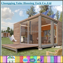2015 ecological new design solar prefab house/solar power container home for sale