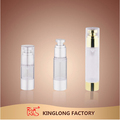 15ml 30ml 50ml 100ml pompe airless bouteille cosmétique