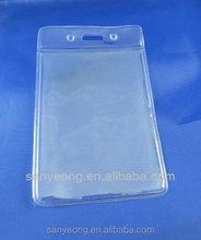 ID card Holder , plastic name badge holder , plastic card holder_96PV