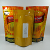 Matting BOPP vacuum enviornmental bag with handle for fruits
