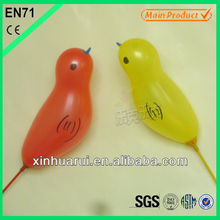 2013 foil balloon birds shaped with printed logo