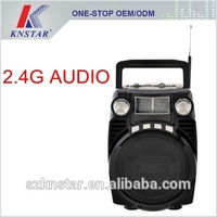 Bluetooth AM FM SW radio with powerful speaker