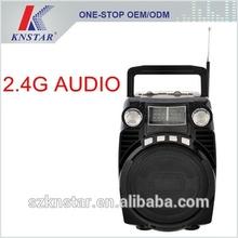 Bluetooth AM FM SW radio with powerful speaker