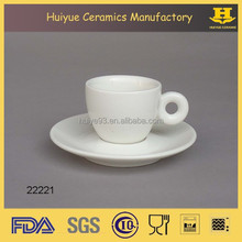 Espresso coffee cup and saucer, coffee cup