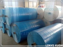 Low price colorful woven poly tarp rolls