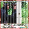 No MOQ Custom Digital Printed Window Curtain